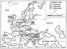 Malvorlagen Map Europe 1914 World War 1 Outline Map Teacherlink Ed Usu