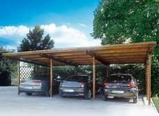 abri en bois pour voiture carport individuel 8 57 x 4 80 m for