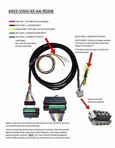10 switch box wiring diagram avs valve wiring harness 10 15 20 accuair vu4 valve to avs 9 switch box avs