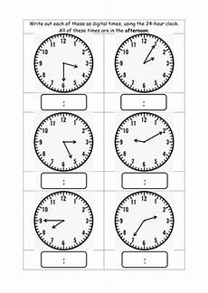 convert analogue and digital times by helenfharvey teaching resources tes