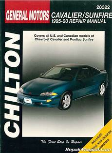 auto repair manual online 1999 pontiac sunfire head up display chilton gm cavalier sunfire 1995 2000 repair manual