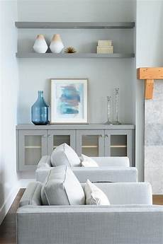 Floating Cabinets Living Room