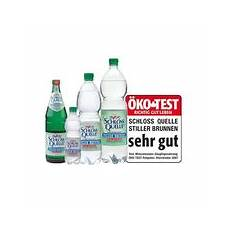stiftung warentest mineralwasser rezept backofen testsieger mineralwasser
