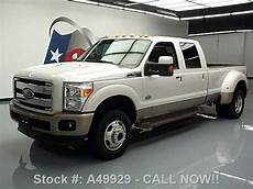 how to learn about cars 2012 ford f350 windshield wipe control buy used 2012 ford f350 king ranch 4x4 diesel dually sunroof nav texas direct auto in stafford