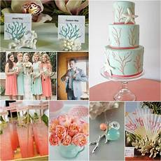 Aqua And Coral Wedding Ideas coral aqua wedding inspiration station