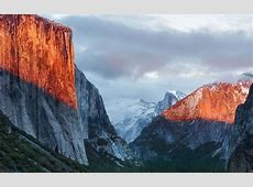 Official OS X El Capitan wallpaper for iPhone, iPad, desktop