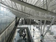 roissy gare tgv tgv station and the terminus of rer b cdg airport tourism roissy en
