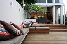 Clever Courtyard Design Contemporary Deck Sydney
