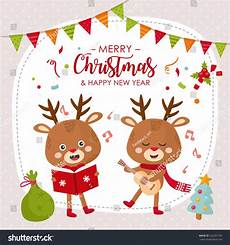 merry christmas card design happy new stock vector 522201745