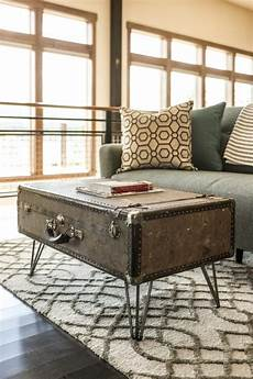 Koffer Als Tisch - how to make a suitcase coffee table how tos diy