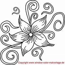 Blumen Malvorlage Kostenlos Ausmalbilder Blumen Zum Ausdrucken Ausdrucken