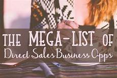 the mega list of direct sales companies grow your business direct sales companies direct