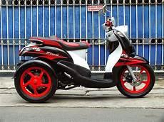 Modifikasi Fino Karbu by Oracle Modification Concept Yamaha Mio Fino Roda Tiga