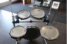Traps Drums A400 Portable Acoustic Drum Set Reverb