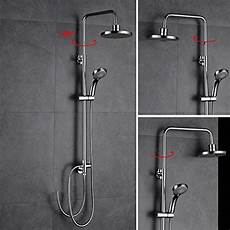 Bonade Dusche Regendusche Set Ohne Duscharmatur 187 Duschk 246 Pfe