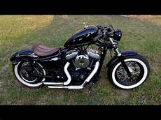 Harley Davidson Custom Sportster 48 Walk Around And