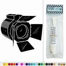 spotlight movie making vinyl sticker decal wall art d 233 cor ebay