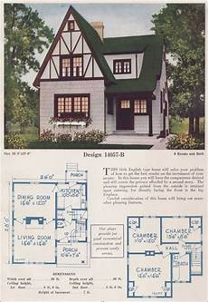 half timbered house plans two story english cottage half timber stucco 1925 c l