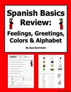 colors review worksheets 12802 basics review colors alphabet feelings and greetings worksheet basics