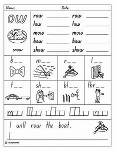 10 best images of worksheets words with ow oa vowel sounds worksheets ou and ow worksheets