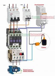 pompe a puit electrique sch 233 ma de c 226 blage d un moteur 233 lectrique et une pompe 224