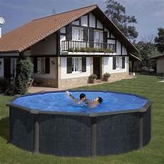 piscine acier gr 233 ronde d 233 cor rattan dimension 3 50 x h1 32m