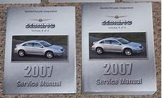 electric and cars manual 2007 chrysler sebring on board diagnostic system 2007 chrysler sebring service manual set factory shop repair gas e85 diesel 07 ebay