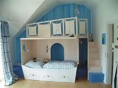 Jungen Zimmer Ein Traum In Blau Kinder Bett Kinder