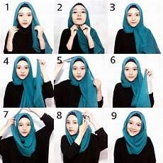 Cara Memakai Jilbab Segi Empat Simpel Dan Modis