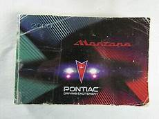 service manuals schematics 2000 pontiac montana parking system 2000 pontiac montana owners manual book ripped cover ebay