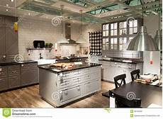 Kitchen Furniture Store Kitchen In Furniture Store Ikea Editorial Image Image