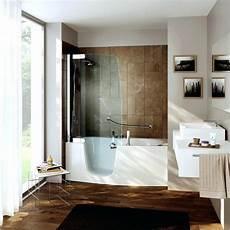 kombination badewanne dusche barrierefrei haus ideen