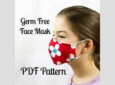 cotton surgical mask pattern