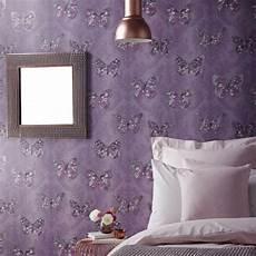 Rosa Tapeten Schlafzimmer - schmetterling tapete m 228 dchen schlafzimmer dekor rosa wei 223