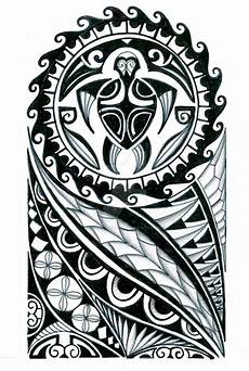Polynesian Half Sleeve Design By Thehoundofulster