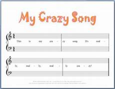 9 free printable beginning piano composition worksheets weird songs cello lessons piano