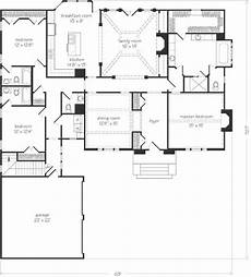 southern living ranch house plans madison ridge open floorplan split bedrooms southern