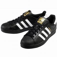 adidas s superstar foundation shoes black white foot