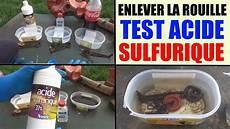 produit pour enlever la peinture enlever la rouille facilement acide sulfurique how to