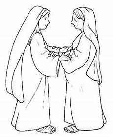 Malvorlagen Elizabeth Ausmalbild Verk 252 Ndigung Weihnachten Weihnachten Geburt