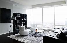 moderne wohnzimmer schwarz weiss black and white living rooms design ideas