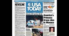 Usa Today Newspaper Turns 35