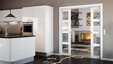 küche mit schiebetür 1001 ideen zum thema offene k 252 che trennen