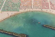 Aerial Adria An Italian Resort Photographed From