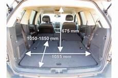 Ford Galaxy Kofferraum Maße - adac auto test fiat freemont 2 0 jtd multijet 16v