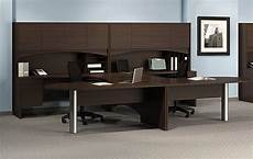 home office furniture for two mayline brighton 2 person workstation laminate u shape 2