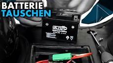 anleitung roller batterie tauschen