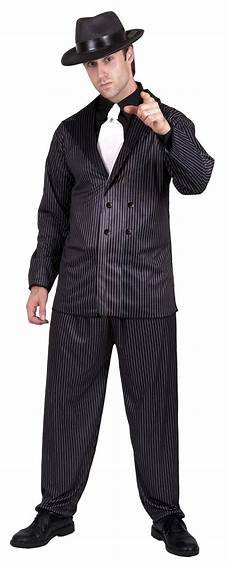 D 233 Guisement Gangster Charleston Homme Costume 233 Es 20