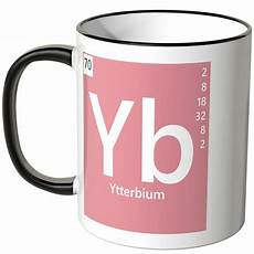 juniwords tasse element ytterbium quot yb quot