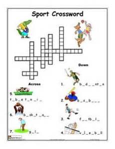 sports worksheets esl 15725 printable sports crossword puzzles puzzles activities printable crossword